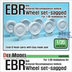 French Panhard EBR Sagged Wheel set