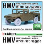 JGSDF HMV Sagged Wheel set