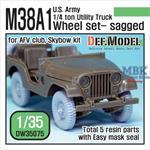 U.S. M38A1 Utility truck Wheel set