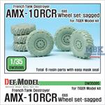 French AMX-10RCR TD Sagged Wheel set