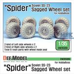 Soviet 'Spider' SS-23 Sagged Wheel set