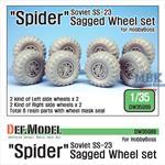 Soviet 'Spider' SS-23 Sagged Wheel set