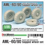 AML-60/90 Sagged Wheel set