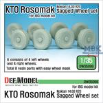 KTO Rosomak Nokian Sagged Wheel set