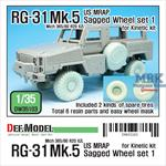 RG-31 Mk.5 Sagged Wheel set