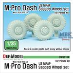 US MRAP M-pro Dash Sagged Wheel set