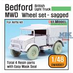 British Bedford MWD Truck Wheel set