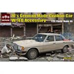70's German Made Civilian Car Mercedes W123