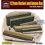 122mm Rocket and Ammo Box