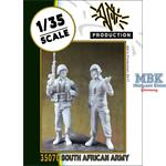 South African Army figure set