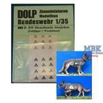 BW Diensthunde Abzeichen