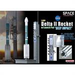 Delta II Rocket w/launch Pad