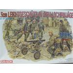 7,5 cm Leichtgeschütz 40 mit Crew