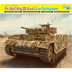 Pz.Bef.Wg.III Ausf.J w/Schürzen ~ Smart Kit