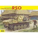 7,5cm PaK 40/4 auf RSO ~ Smart Kit