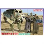 Rommel & Staff, North Africa 1942