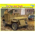 ¼ Ton Armored 4x4 Truck w/Bazookas ~ Smart Kit