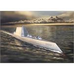 USS Zumwalt Class Destroyer DDG-1000