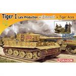 Tiger I Late Production w/Zimmerit + Tiger Aces