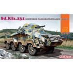 Sd Kfz 231 schwerer Panzerspähwagen   1/72