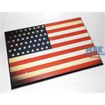 Flaggensockel, USA, 28x19cm