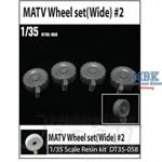 M-ATV Wheel Set (Wide)