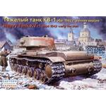 KV-1 russ. heavy tank (mod 1942) early