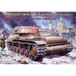 KV-1 russ. heavy tank (mod 1942) early