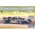 Team Lotus Type 88 1981 Courage 1:20