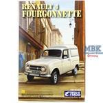 Renault 4 Fourgonnette 1:24