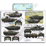 Ukrainian AFVs  BMP-1,BMP-2 & T-64BV