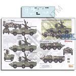 Ukrainian AFV`s  Pt. 7 9K33M3, BRDM2, BTR80