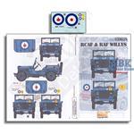 RCAF & RAF Willys