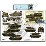 Ukrainian AFVs Pt 11 BRDM2 T64B T64BV ZSU-23 etc