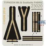 Typhoon Mk. Ib Seatbelts FABRIC Airfix