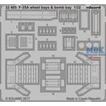 F-35A  wheel bay & bomb bays  1/32