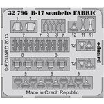 B-17 FABRIC seat-belts