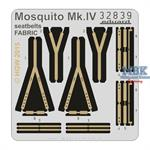 Mosquito Mk. IV seatbelts FABRIC
