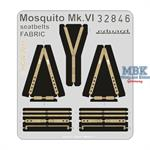 Mosquito Mk.VI seatbelts FABRIC
