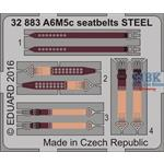 A6M5c seatbelts STEEL  1/32