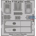 F-14A grilles STEEL  1/48