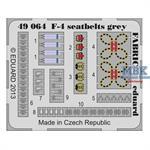 SeatbeltsF-4 Phantom II grey FABRIC
