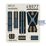 MiG-23 seatbelts FABRIC
