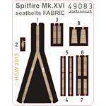 Spitfire Mk. XVI seatbelts FABRIC