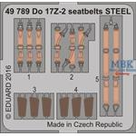 Do 17Z-2  Seatbelts STEEL  1/48