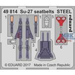Su-27 seatbelts STEEL