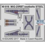 MiG-25RBT seatbelts STEEL