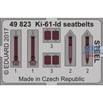 Ki-61-Id seatbelts STEEL 1/48