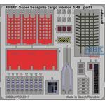 Super Seasprite Cargp interior  1/48