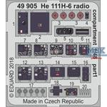 He 111H-6 radio compartment 1/48